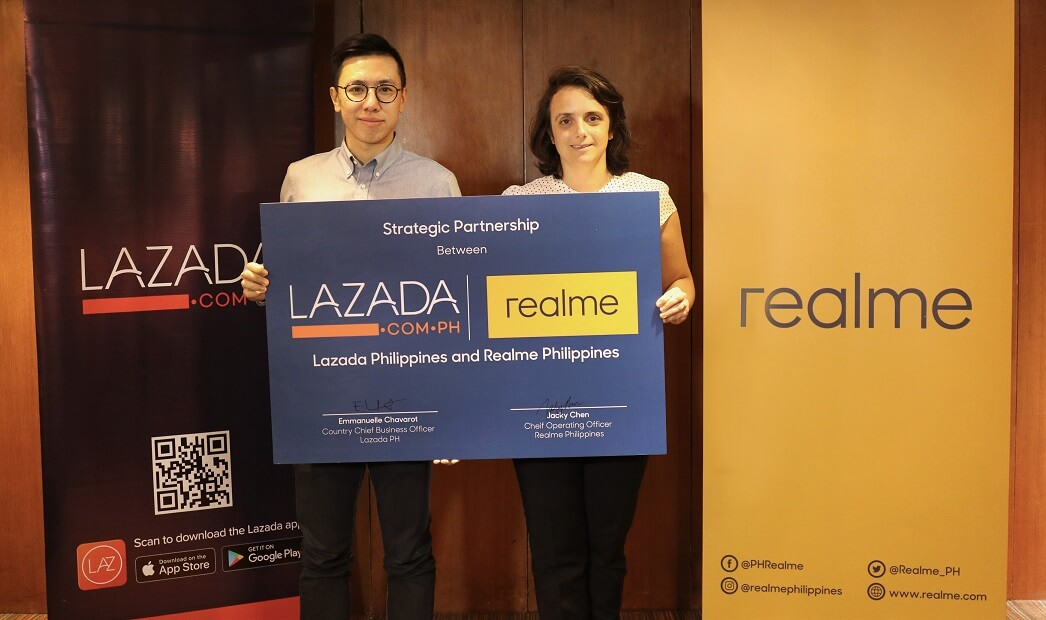 Realme Partners with Lazada in the Philippines | AdoboTech